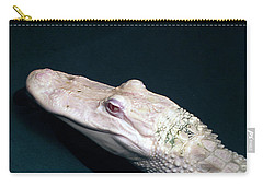 Albino Alligator  Carry-all Pouch