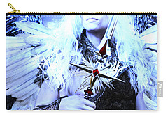 Albino Angel 2 Carry-all Pouch by Suzanne Silvir