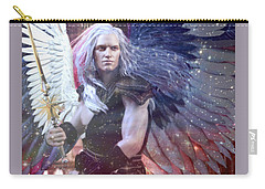 Albino Angel 4 Carry-all Pouch by Suzanne Silvir