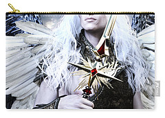 Albino Angel Carry-all Pouch by Suzanne Silvir