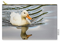 Albino Mallard Carry-all Pouch