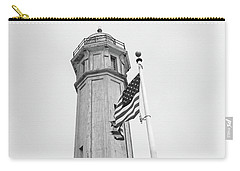 Carry-all Pouch featuring the photograph Alcatraz Light - San Francisco by Art Block Collections