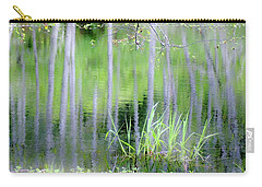 Alder Reflections Carry-all Pouch by Sheila Ping