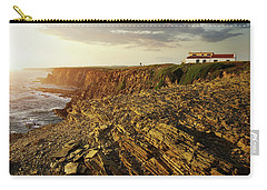 Carry-all Pouch featuring the photograph Alentejo Cliffs by Carlos Caetano
