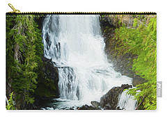 Carry-all Pouch featuring the photograph Alexander Falls - 2 by Stephen Stookey