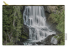 Carry-all Pouch featuring the photograph Alexander Falls by Stephen Stookey