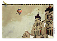 Alexander Nevsky Cathedral In Tallin, Estonia, My Memory. Carry-all Pouch