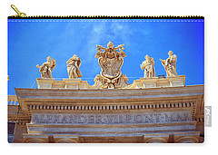 Alexander Vii Coat Of Arms Carry-all Pouch