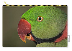 Alexandrine Parakeet Carry-all Pouch