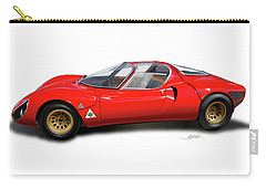 Alfa Romeo 33 Stradale 1967 Carry-all Pouch