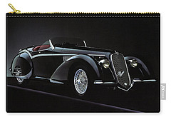 Alfa Romeo 8c 2900 Mercedes Benz Carry-all Pouch