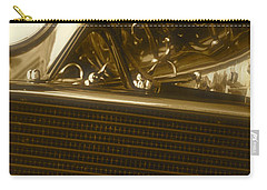 Carry-all Pouch featuring the photograph Alfa Romeo Front Grille Detail Phone Case by John Colley