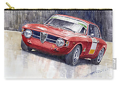 Alfa Romeo Giulie Sprint Gt 1966 Carry-all Pouch by Yuriy  Shevchuk
