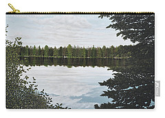 Algonquin Park Carry-all Pouch by Kenneth M  Kirsch