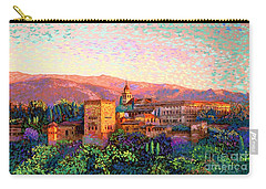 Alhambra, Grenada, Spain Carry-all Pouch by Jane Small