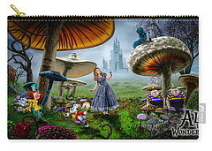 Ali In Wonderland Carry-all Pouch