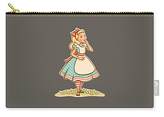 Alice Carry-all Pouch by Elizabeth Taylor