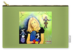 Alice In Garden Carry-all Pouch