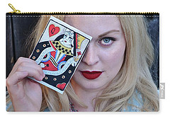 Alice Wins The Queen Of Hearts Carry-all Pouch
