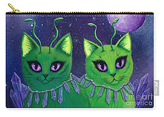 Alien Cats Carry-all Pouch