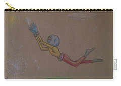 Alien Chasing His Dreams Carry-all Pouch