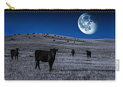 Alien Cows Carry-all Pouch