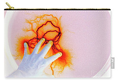 Carry-all Pouch featuring the photograph Alien Encounter Outside Looking In by Paul W Faust - Impressions of Light