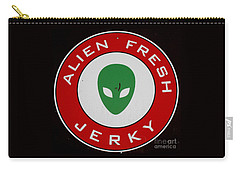 Alien Food Carry-all Pouch by Randall Weidner