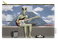 Alien Guitarist 2 Carry-all Pouch
