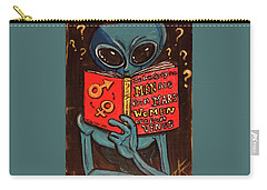 Alien Looking For Answers About Love Carry-all Pouch