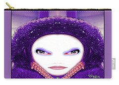 Carry-all Pouch featuring the photograph Alien Mom #194 by Barbara Tristan