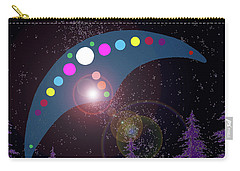 Carry-all Pouch featuring the painting Alien Skies by James Williamson