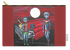 Alien Superheros Carry-all Pouch