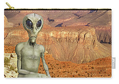 Alien Vacation - Grand Canyon Carry-all Pouch by Mike McGlothlen