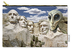 Alien Vacation - Mount Rushmore 2 Carry-all Pouch
