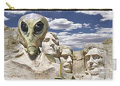 Alien Vacation - Mount Rushmore Carry-all Pouch