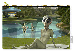 Alien Vacation - St. Louis Carry-all Pouch by Mike McGlothlen