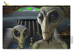 Alien Vacation - The Arrival  Carry-all Pouch by Mike McGlothlen