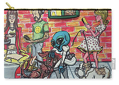 Aliens Love Dogs Carry-all Pouch