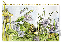 Alive In A Spring Garden Carry-all Pouch