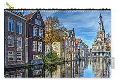 Alkmaar From The Bridge Carry-all Pouch by Frans Blok