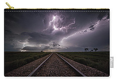 Carry-all Pouch featuring the photograph All Aboard  by Aaron J Groen