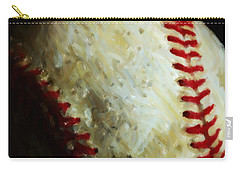 All American Pastime - Baseball - Square - Painterly Carry-all Pouch