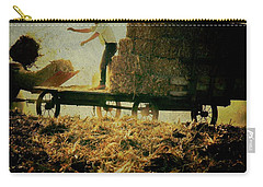 All In A Day's Work Carry-all Pouch by Trish Tritz