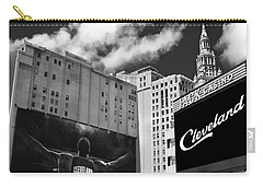 All In Cleveland Carry-all Pouch by Kenneth Krolikowski