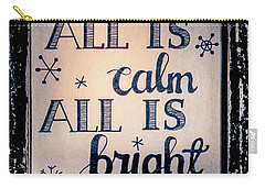 All Is Calm Carry-all Pouch