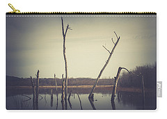 Carry-all Pouch featuring the photograph All Is Calm At Green Bottom by Shane Holsclaw