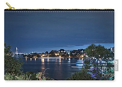 Carry-all Pouch featuring the photograph All Lit Up by Elaine Teague