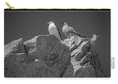 Carry-all Pouch featuring the photograph All Quiet On The Western Front by Samuel M Purvis III