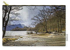 Carry-all Pouch featuring the photograph All Seasons At Loch Lomond by Jeremy Lavender Photography